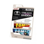 Ultimate Guard 25 intercalaires pour Comics Premium Comic Book Dividers Sable