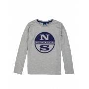 North Sails T-shirt Long Sleeve with Prints