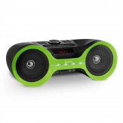 Auna Boombastic Bluetooth Boombox USB SD MP3 AUX FM LED baterie (MG5-Boombastic gr)