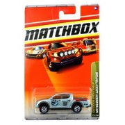 Mattel Year 2009 Matchbox MBX Outdoor Sportsman Series 1:64 Scale Die Cast Car #77 - Silver Color Lake Shawzee Compact Pick-Up Truck MITSUBISHI L200/TRITON (R5003) by Matchbox