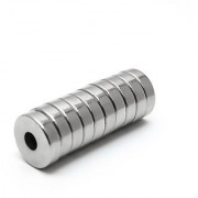 Set Of 8Pcs 10mm x 3mm x 3mm(HOLE) Round RING Rare Earth NdfeB Neodymium Strong Magnets N52