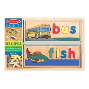 See & Spell Wood Puzzle