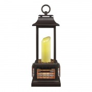 Powerheat Led Electric Lantern / Patio Heater With Remote Control Outd