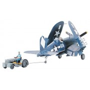 Tamiya 61085 1/48 Vought F4U-1D Corsair w/Moto Tug (japan import)