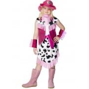 Costum Carnaval Copii Cowgirl Roz
