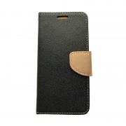 Husa tip carte Fancy Iphone 6/6S Negru/Gold