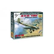 "Modellino Aereo German Dive Bomber Ju-87 B2 ""Stuka"" Scala 1:144"