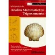 Memorator de analiza matematica si trigonometrie - Luminita Curtui