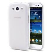 Husa protectie spate Vetter Ecoline Soft Touch pentru Samsung Galaxy S3 i9300 - White
