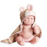 "JC Toys ""Pouty"" La Newborn Moments 17"" Newborn Doll by JC Toys Group, Inc."