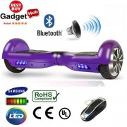 "6.5"" Notorious Purple Bluetooth Segway Hoverboard"