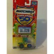 Matchbox Across America 50th Birthday Series Iowa Mercedes-Benz Trac 1600 Turbo (Farm Tractor)