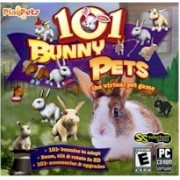 New Selectsoft Games 101 Bunny Pets Virtual Pet Game Dutch Netherland Dwarf Rex Jersey Wooley