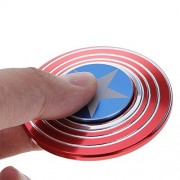 """MSE """"OFFER"""" Storage Box (Any1 Box) Free with Fidget Spinner worth of worth of 799* Fidget Hand Spinner Games Toys , Captain America Tri-Spinner Game Fidget Stress Reducer Toys for Kids and Adults"""