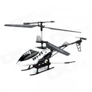 YD YD-215 2.4GHz 3.5-CH Wi-Fi R / C Helicopter w / camara - Gris Plata + Negro + Multi-color