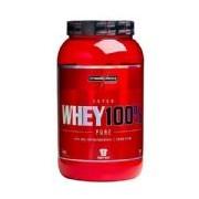Super Whey 100% Pure - Morango 907g - Integralmédica