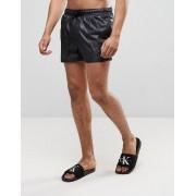 ASOS Черные шорты для плавания с мокрым эффектом ASOS - Черный
