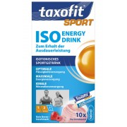 Taxofit Iso Energy Drink rote beere Mineraldrinks