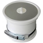 ITAR Poubelle de plan de travail - couvercle inox - ITAR