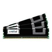 Crucial 12GB kit (4GBx3) DDR3 PC3-12800 12GB DDR3 1600MHz Data Integrity Check (verifica integrità dati) memoria