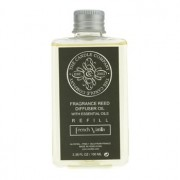 Reed Diffuser with Essential Oils Refill - French Vanilla 100ml/3.38oz Odorizant cu Trestie cu Uleiuri Esenţiale Rezervă - French Vanilla