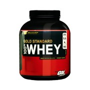 Optimum 100procent Whey Gold - banán, 2273 g