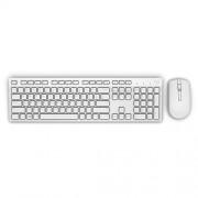 "Kit Tastatura + Mouse DELL; model: KM636; layout: UK; ALB; USB; WIRELESS; MULTIMEDIA; ""9CT30"""