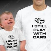 T-shirts Play With Cars - Bebé