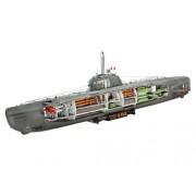 Revell 05078 - U-Boot Tipo XXI Kit di Modello in Plastica, Scala 1:144