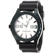 Fastrack Quartz White Round Men Watch NE9462AP01J