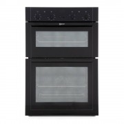 Neff U14M42S5GB Double Built In Electric Oven - Black