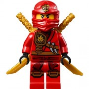 LEGO® Ninjago Minifigure - Kai Zukin Robe (Red Ninja) with Dual Gold Swords (70745)