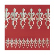 Ghirlanda Halloween Skeleton 3m