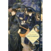 Sketchbook: The Umbrellas (Renoir): 128-Page Unlined Pages