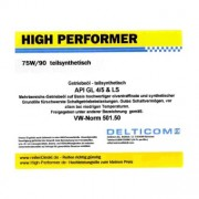 High Performer 75W/90 GL4/5 TS - Huile à engrenages 1 Litres Boîte
