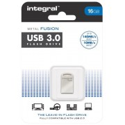 Memorie flash Integral USB metal Fusion 16GB transfer pana la 140 MB/s