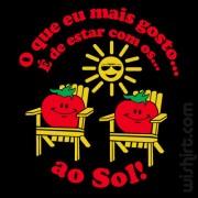 T-shirt Tomates ao Sol