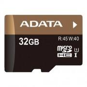 Card ADATA Micro SDHC Premier Pro 32GB UHS-I U1 + adaptor SD AUSDH32GUI1-RA1