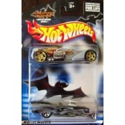 Hot Wheels Halloween Highway 2 Pack with a Screamin' Hauler in Silver and a '57 Chevy Roadster in Black! by Mattel