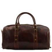Sac de Voyage Cuir Francoforte Petit Tuscany-Leather Marron