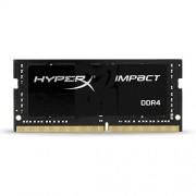 HyperX Impact Memoria DDR4 da 8 GB, 2400 MHz, CL14 SODIMM 260-pin, Nero
