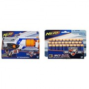 Bundle: Nerf N-Strike Elite Strongarm Blaster (1) Nerf N-Strike Elite Dart Refill Pack (30 Darts)