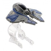 Hot Wheels Star Wars Obi-Wan Kenobis Jedi Starfighter Starship Vehicle