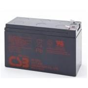 Batería para Alarma 12v 7,2Ah Plomo Agm GP1272 CSB