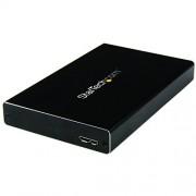 """StarTech Box Esterno Universale per Disco Rigido SATA III da 2,5"""" USB 3.0, Nero/Antracite"""