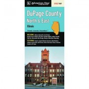 Universal Map Dupage North And East County Fold Map (Set of 2) 11496