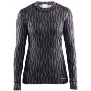 Craft Mix and Match Intimo grigio/nero Magliette intime a maniche lunghe