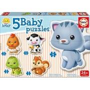 Educa Borras Educa - 13473 - Puzzle Baby Animaux