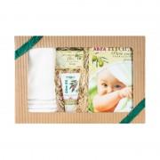 Dárkový balíček pro miminka a novorozence - krémová