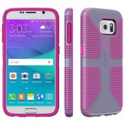 Speck CandyShell Grip Case for Samsung Galaxy S6 - Grey/Pink